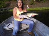 Caught on personal private lake
