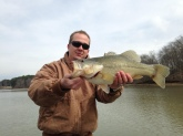 Lake Chickamauga TN. February 2014 caught this 6.2,lbs. girl on a Bill Dance T. Spinnerbait. Love the Bill Dance lures just wish i could find more of them. Just after that fish i hung into another one same lure but broke my 12 lbs. line. The fish never came up so i never saw it but i no it was big. Well we all have the old story of