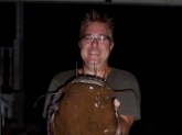 Believe it or not, I caught this 32 lb. 40in. Flathead on a 6 inch YUM Money Minnow in a Rainbow Trout color. Who knew??
