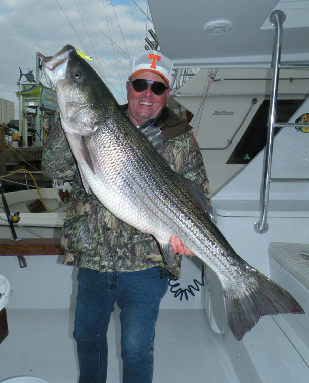 Virginia stripers for Bill dance fishing
